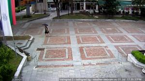 Камера пред Община Велинград